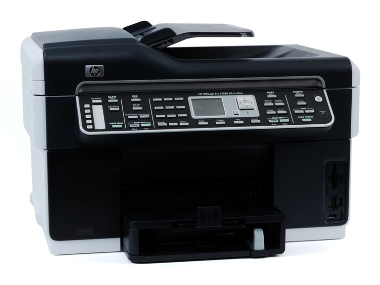 how to clean hp 7680 printer