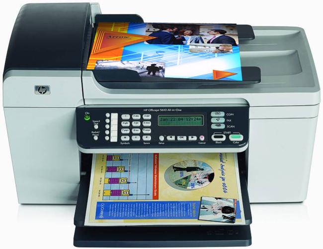 123 HP Officejet 5610xi Printer